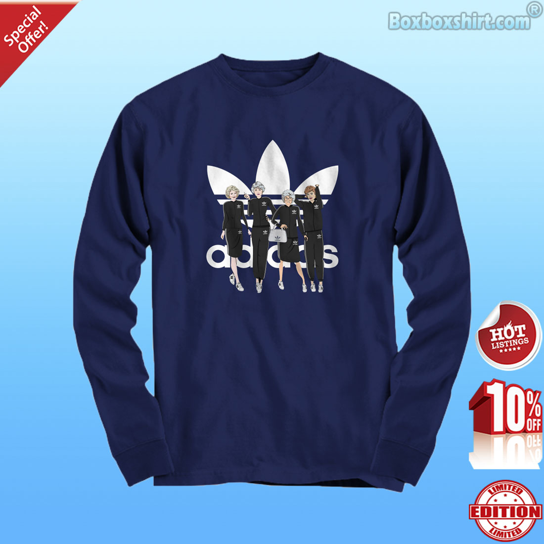 Golden Girls Adidas shirt