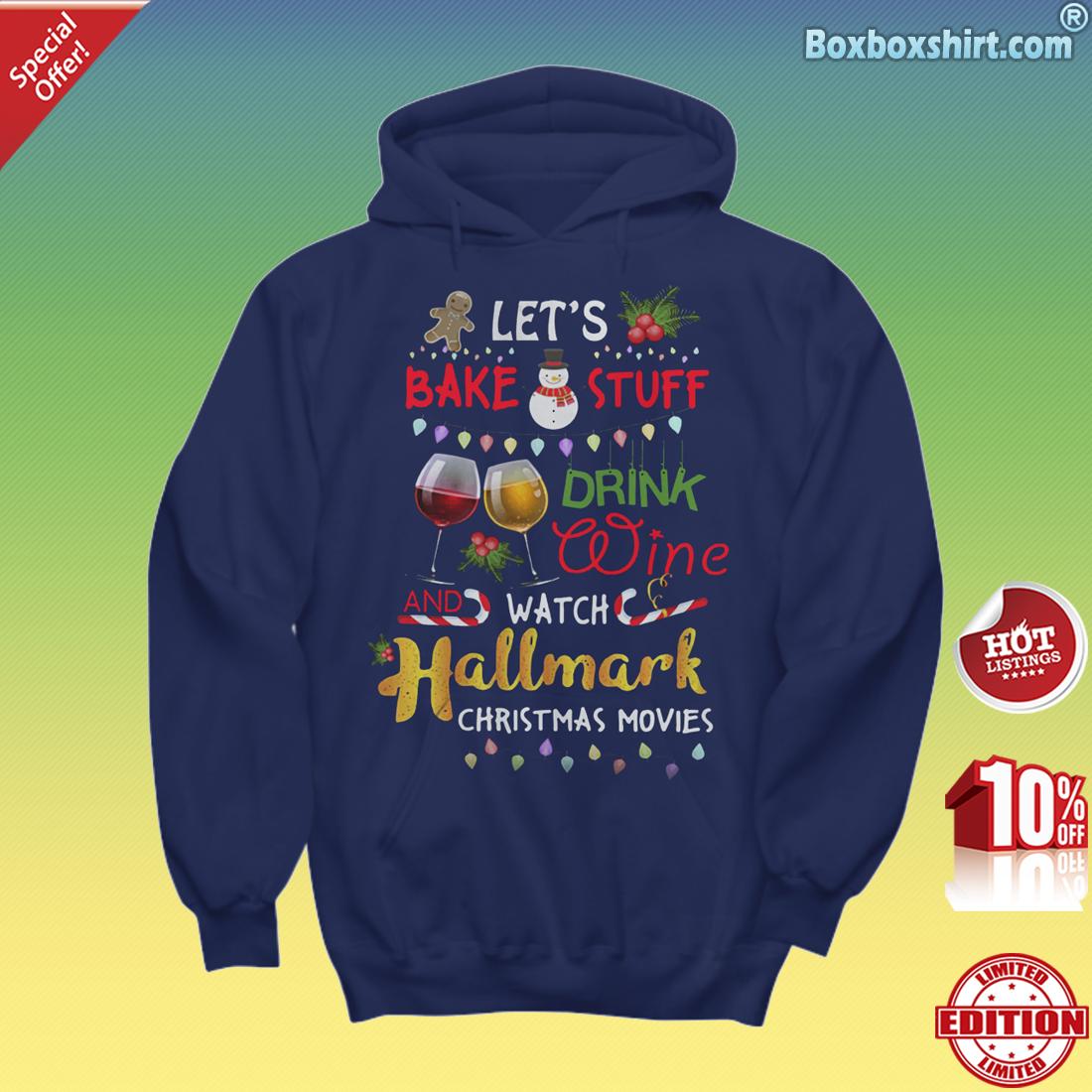 Holiday Home Watching Hallmark Movies Christmas Hoodies Shirt This is My Hallmark Christmas Movie Watching