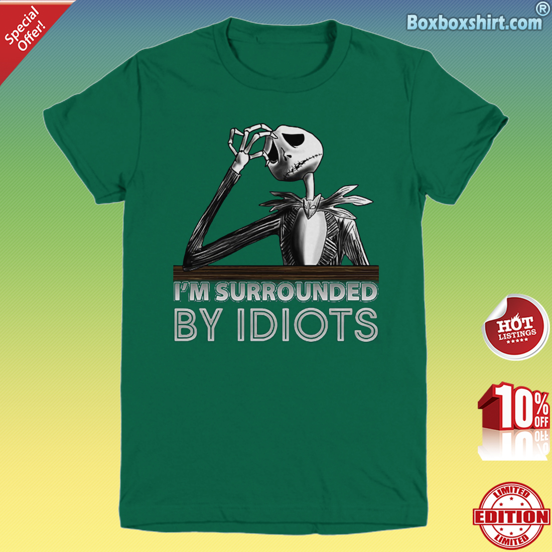 Jack I'm surrounded by idiots Youth Tee