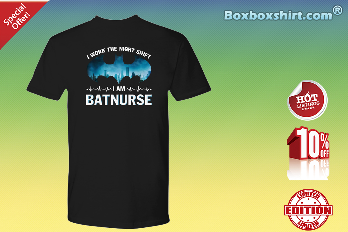 I work the night shift I'm batnurse Premium Tee