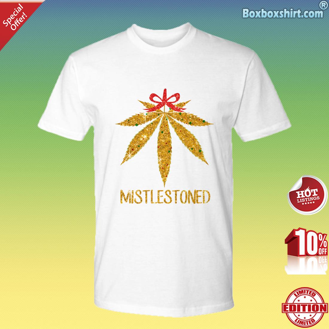 Cannabis mistletoe mistlestoned Premium Tee