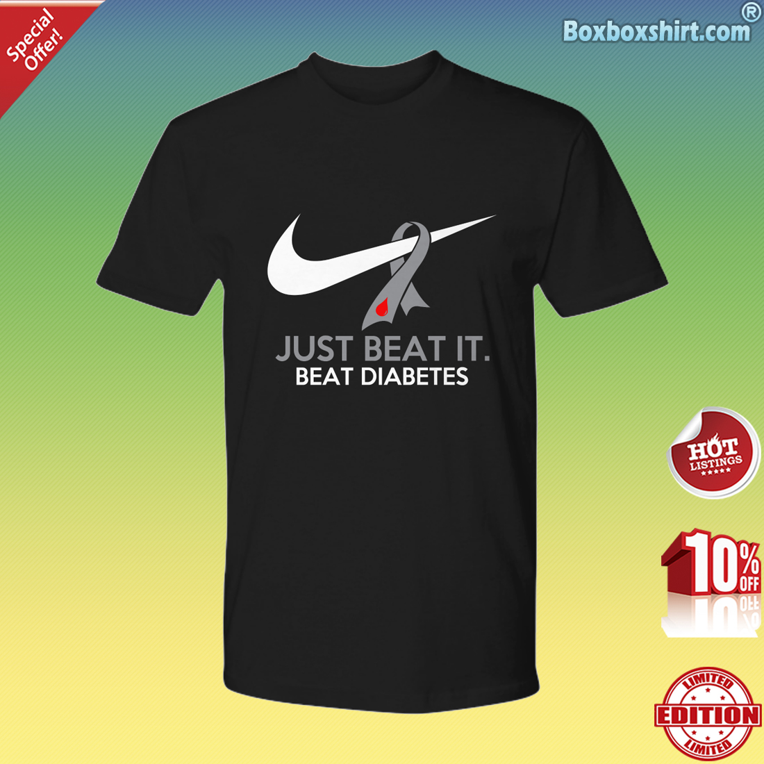 Just beat it beat diabetes Premium Tee