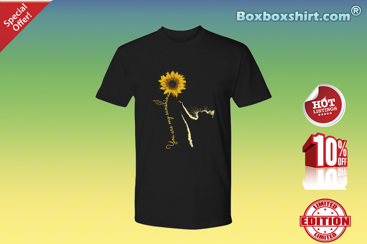 You are my sunshine sunflower cat Premium Tee