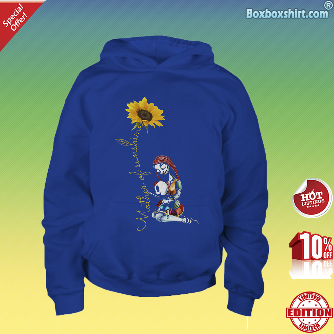 Sally mother of sunshine-Youth Hoddie