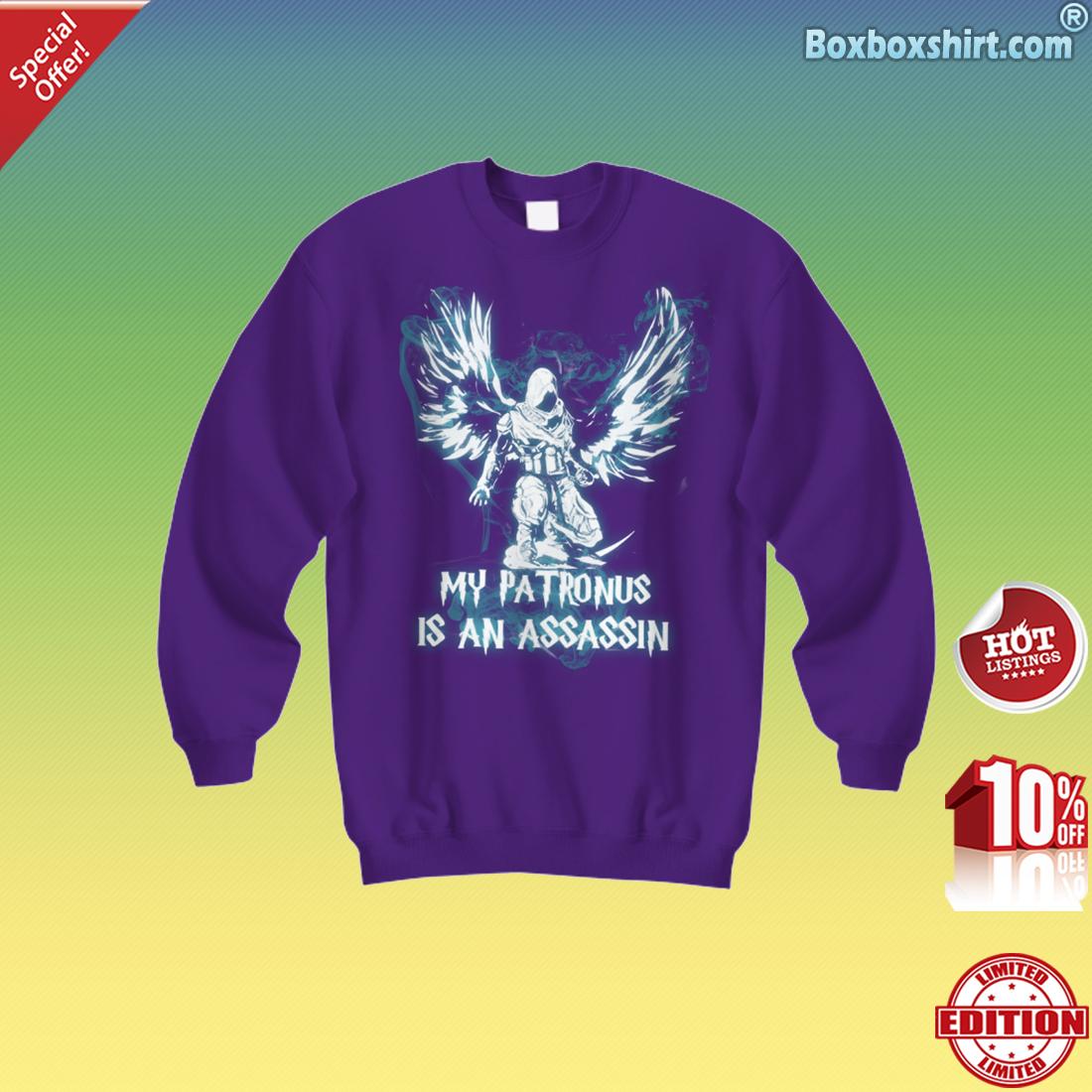 My patronus is an assassin Sweatshirt