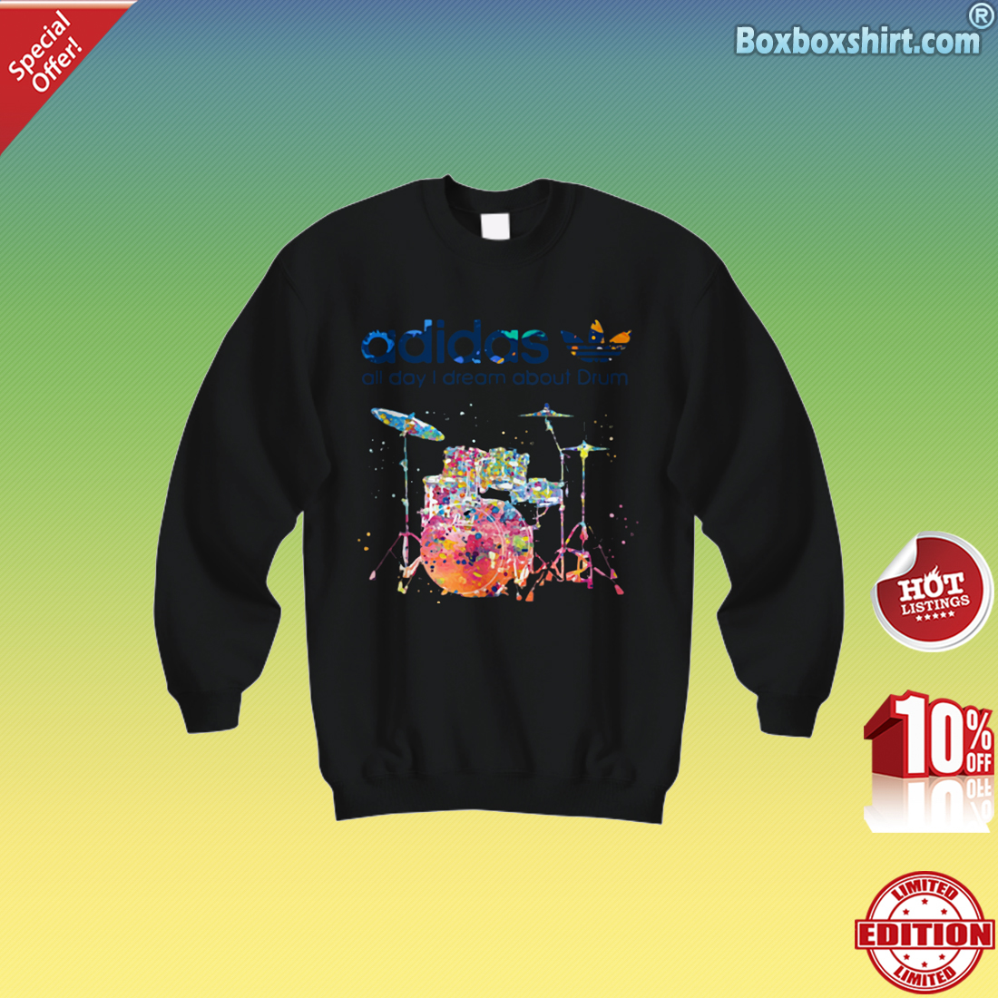 Adidas all day I dream about Drum Sweatshirt