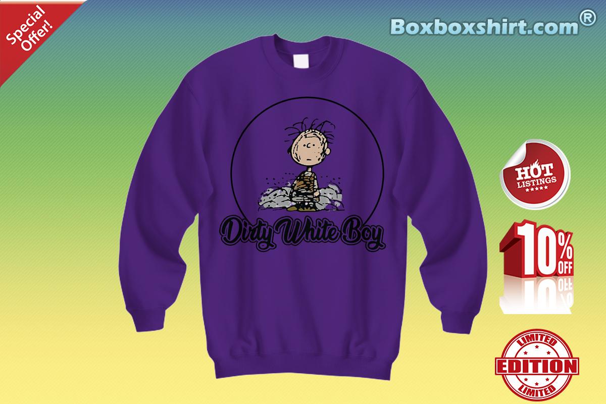 Charlie Brown dirty white boy Sweatshirt