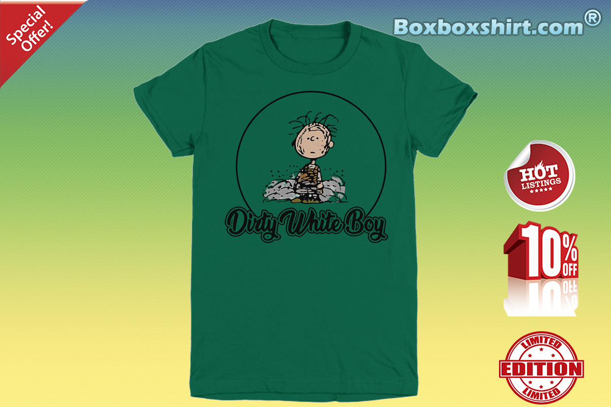 Charlie Brown dirty white boy Youth Tee