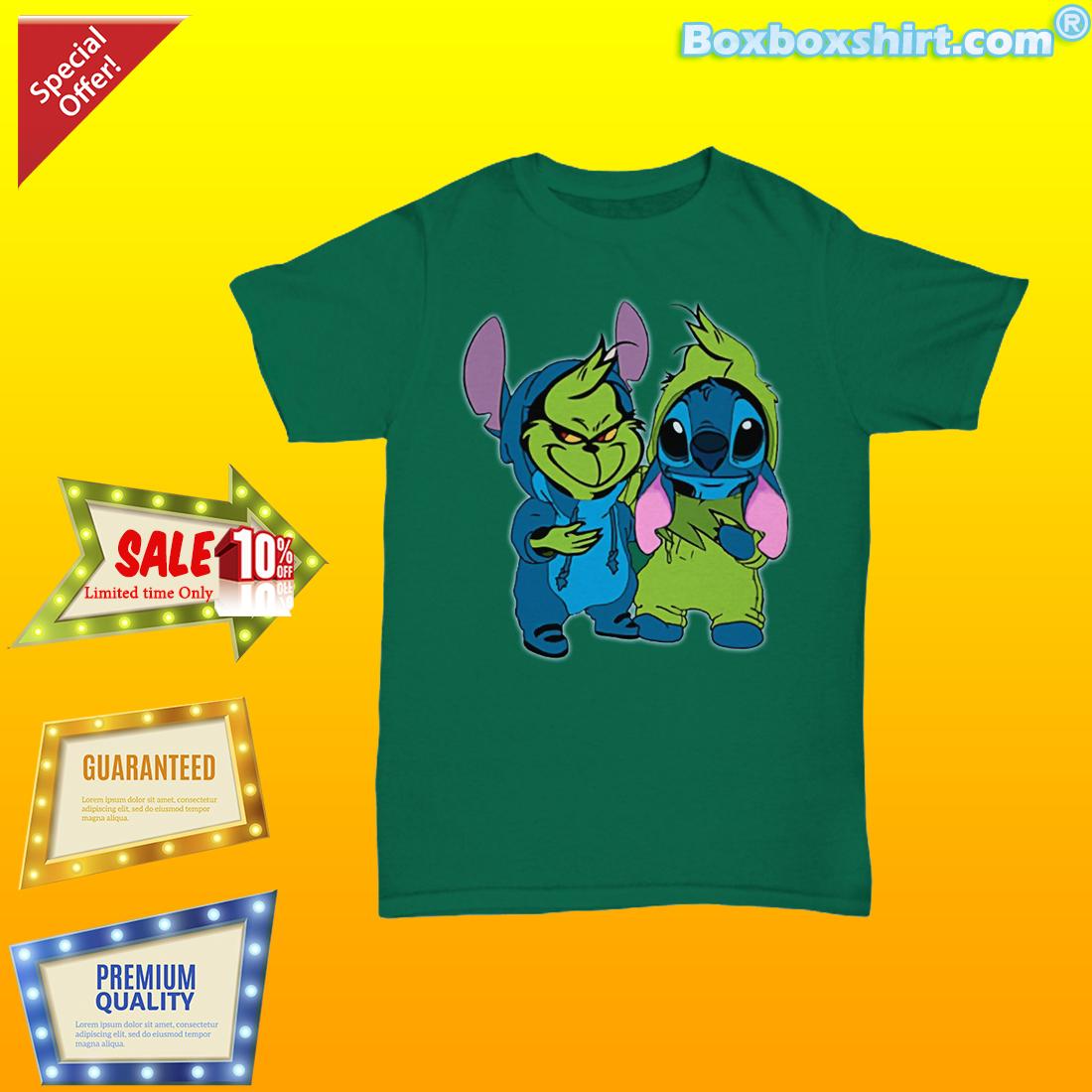 Baby Grinch Stitch shirt