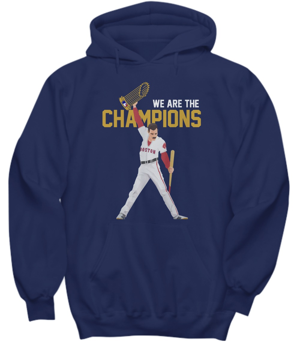 Boston Red Sox we are the champions shirt