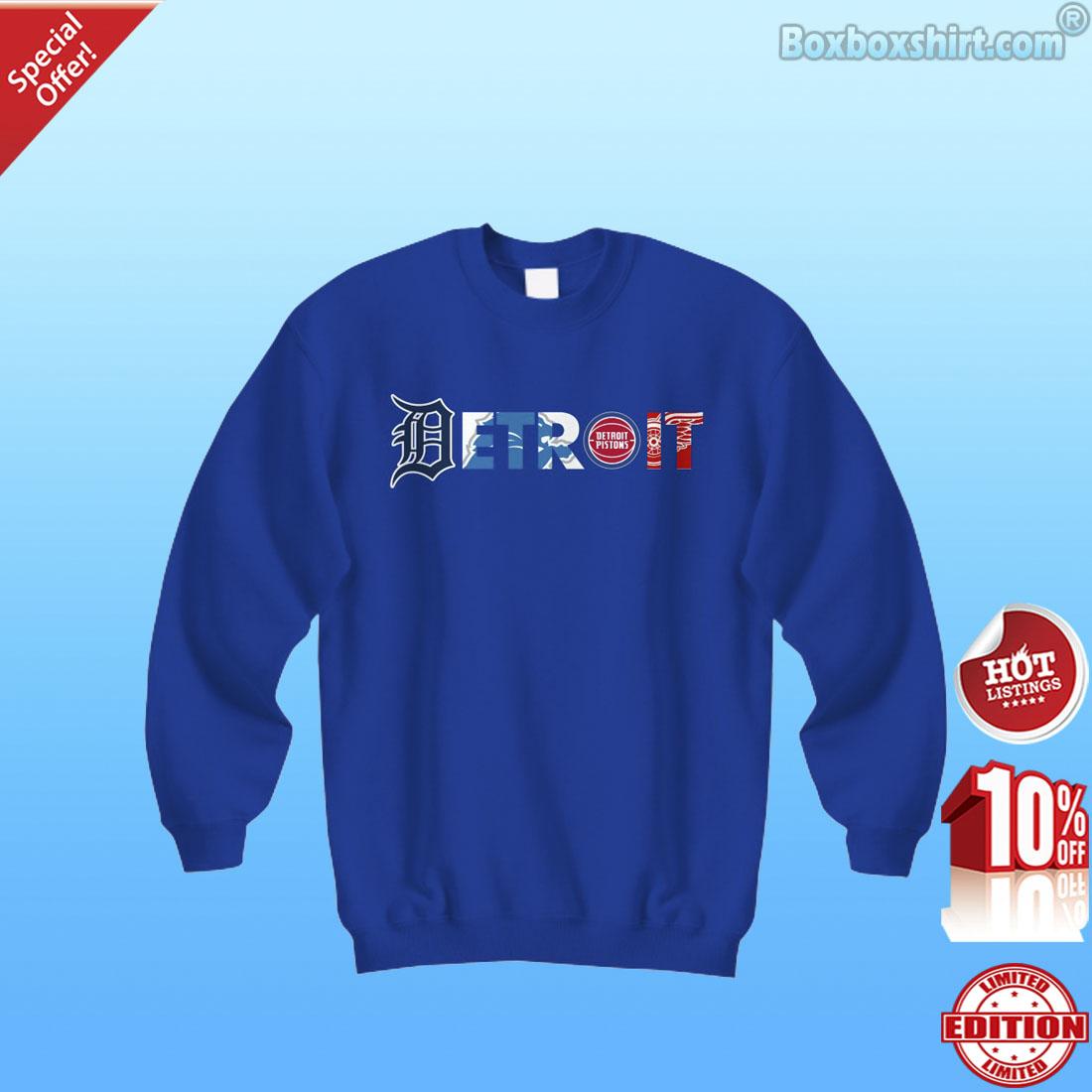 Detroit pro team logo shirt