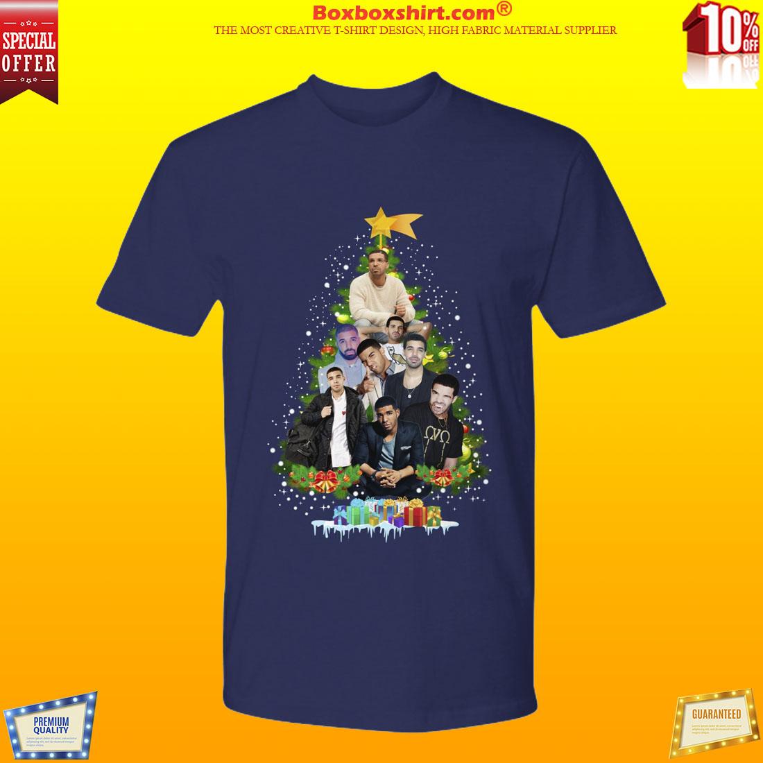 Drake Christmas tree shirt