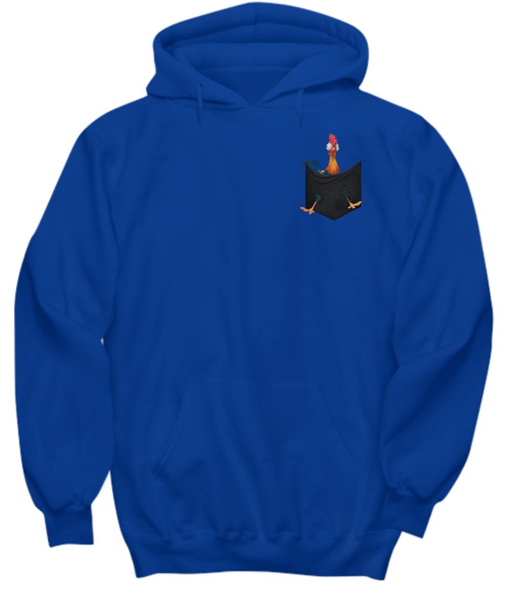 Hei hei rooster pocket shirt