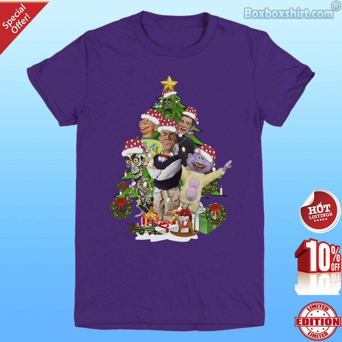 Jeff Dunham Christmas tree shirt