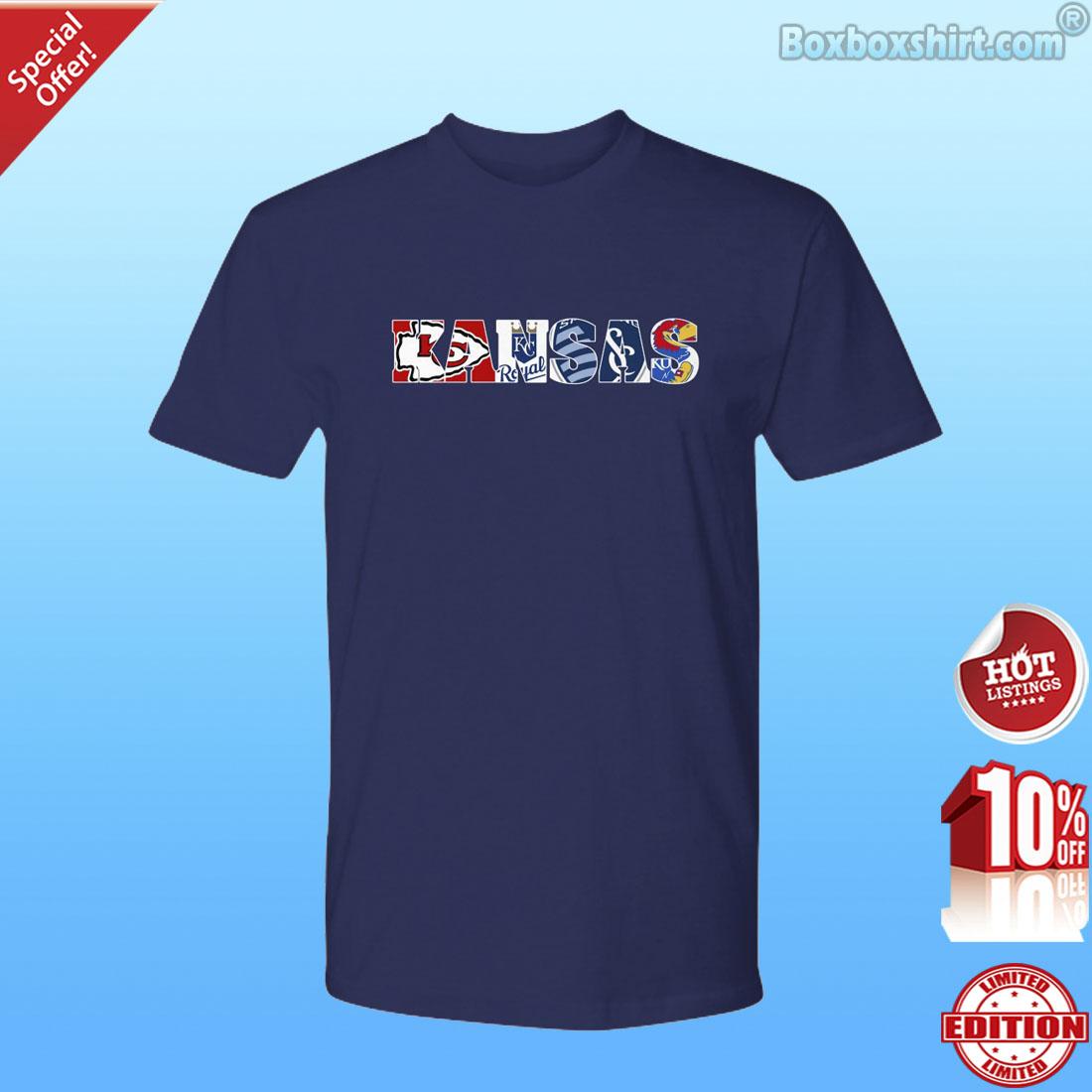 Kansas all sports logo shirt