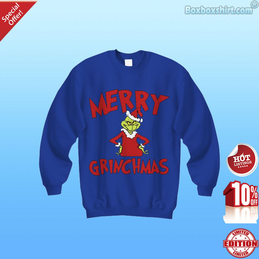 Mama Grinch Merry Grinch shirt