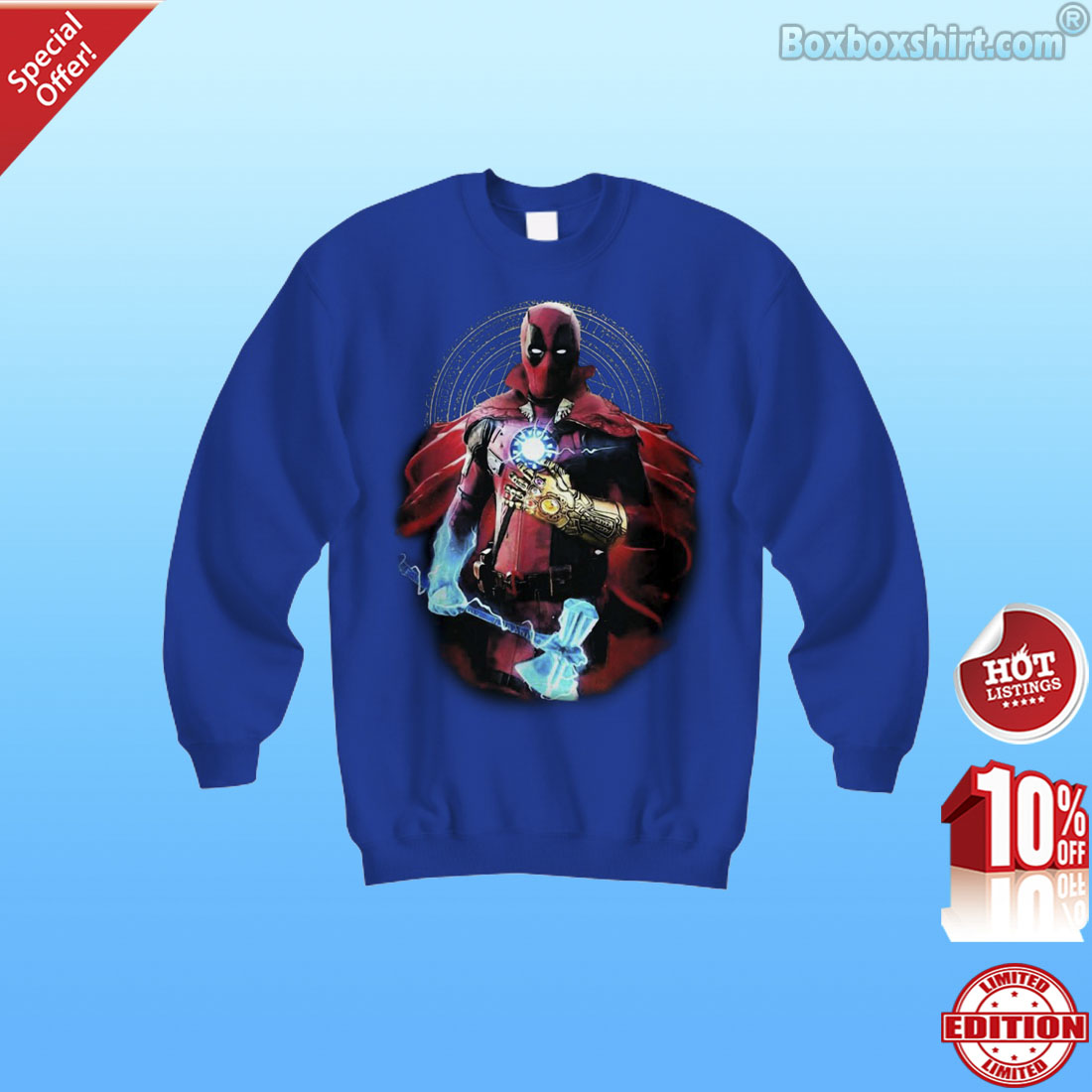 Marvel super heroes fusion shirt