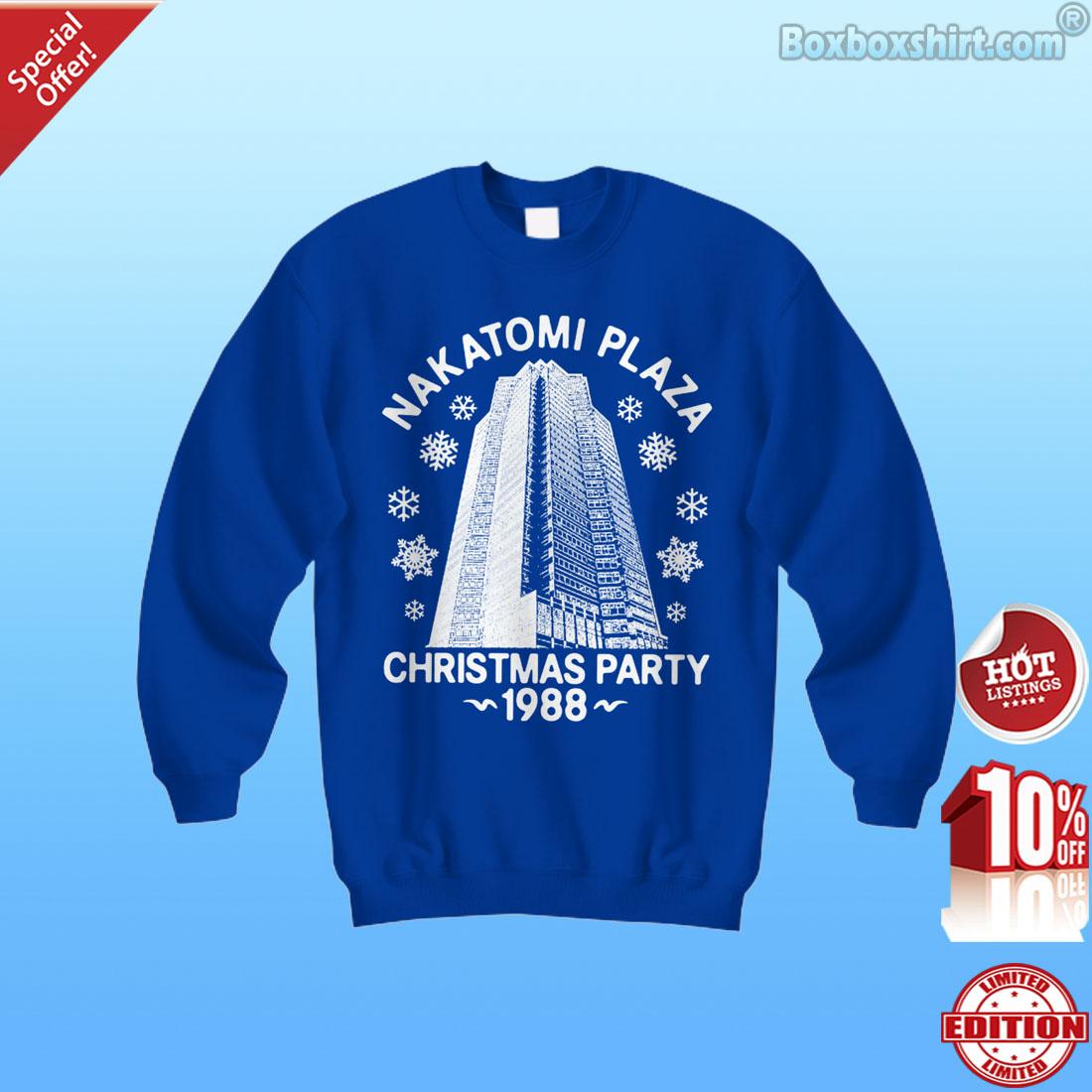 Nakatomi plaza Christmas Party 1988 shirt, youth tee