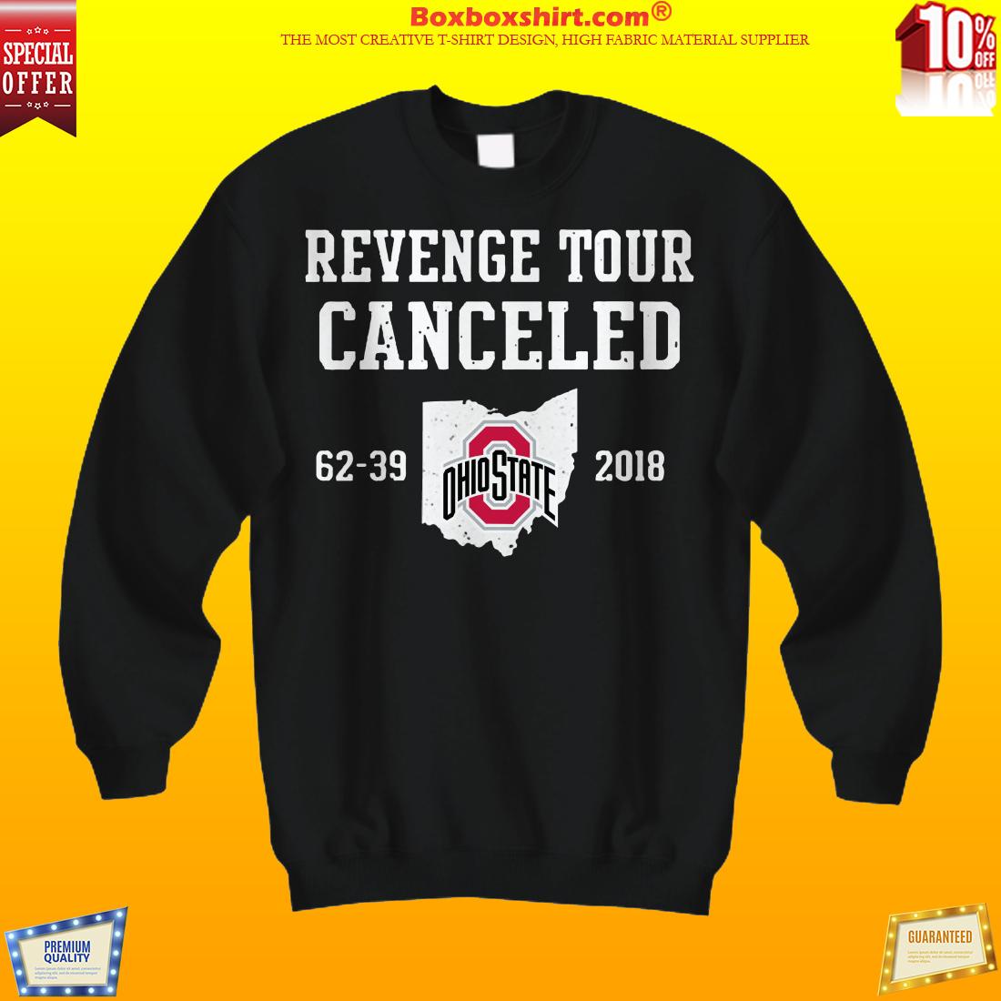Ohio State revenge tour canceled shirt and hoodies