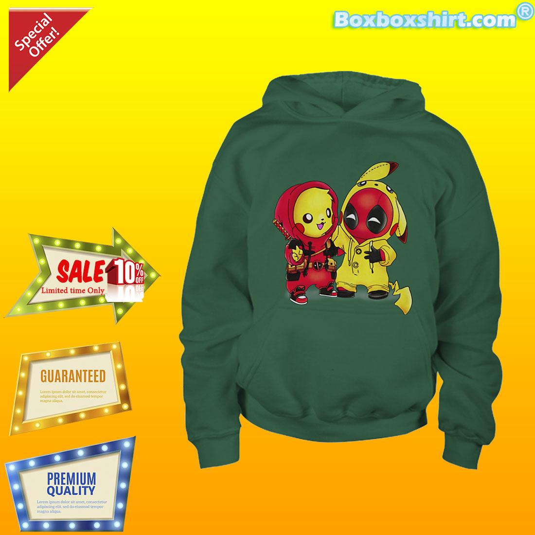 f8aa348e1 Pikachu deadpool pikapool shirt. Our partner: boxboxshirt
