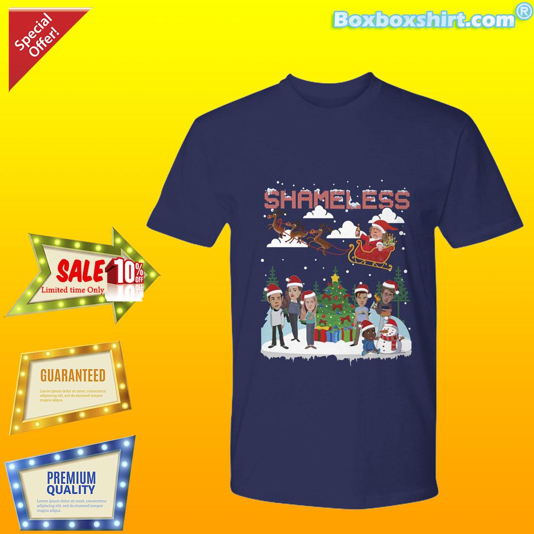 Shamless Santa Ugly Christmas Sweater Shirt And Premium Tee