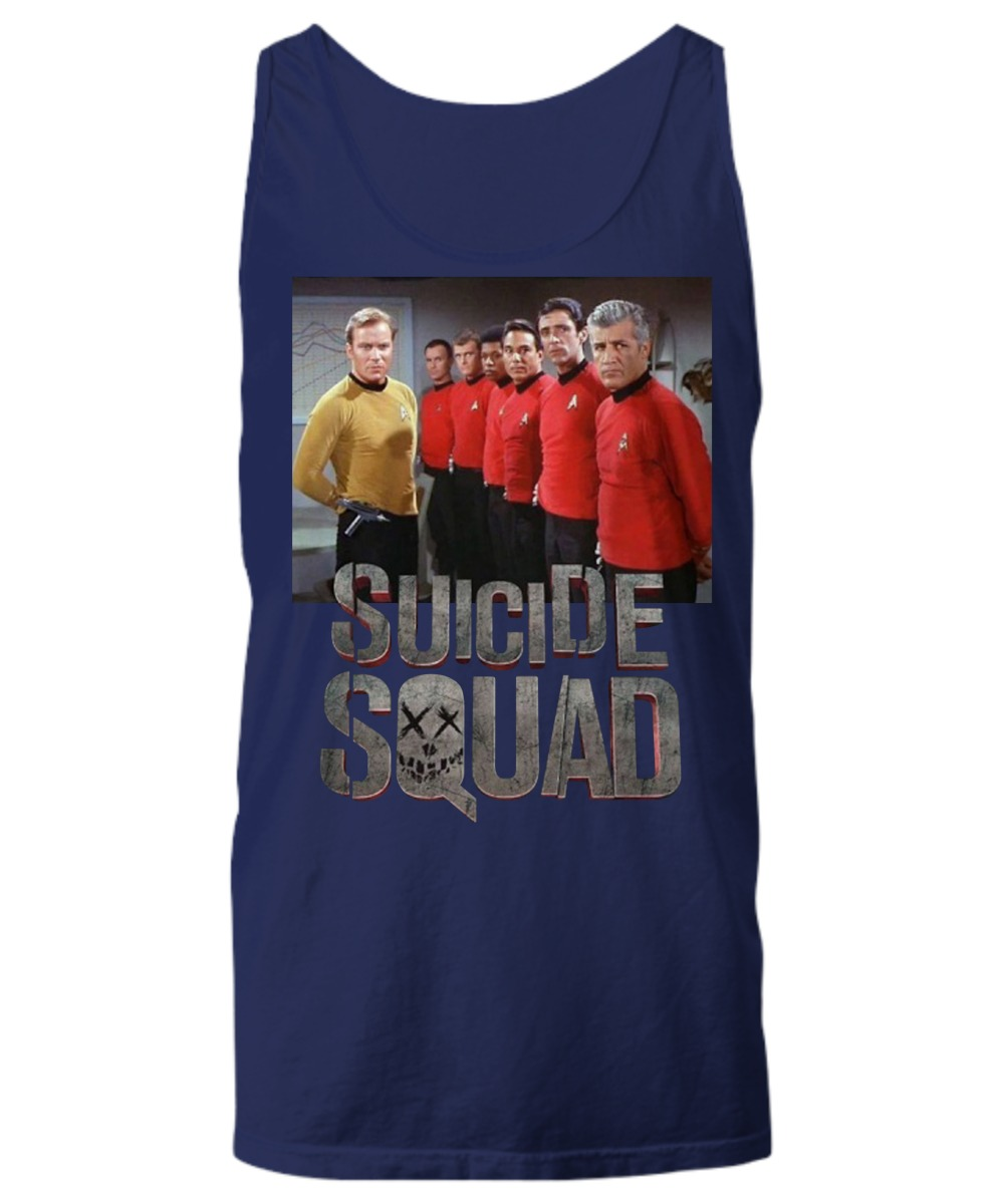 Suicide squad star trek shirt