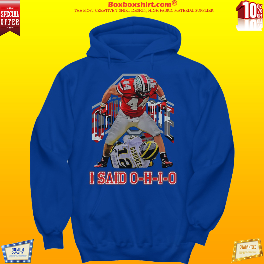 Zach Boren I said Ohio shirt and hoodies