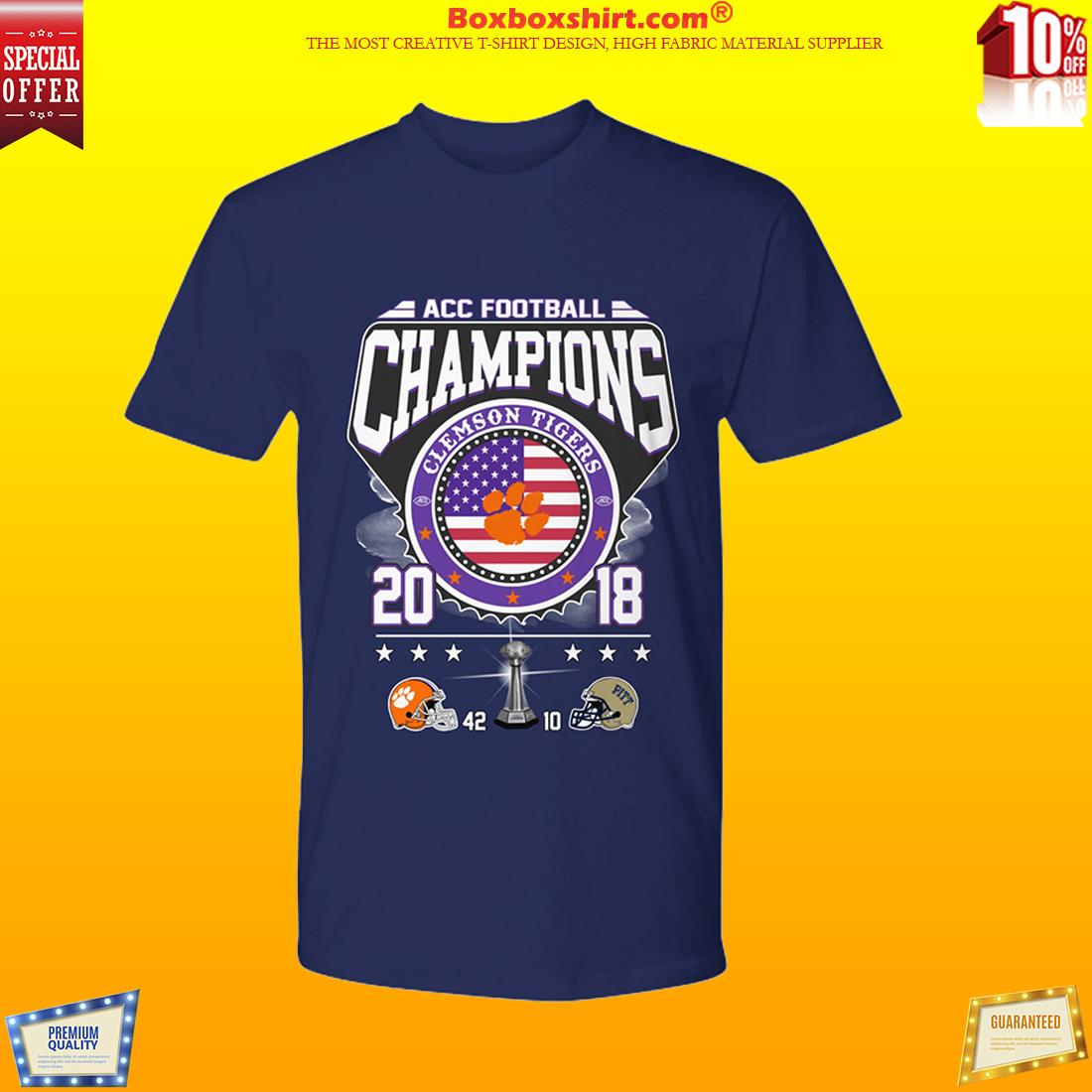 ACC football champion Clemson tigers shirt