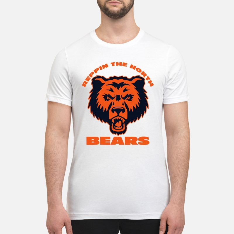 Chicago bears repping the North bears premium shirt
