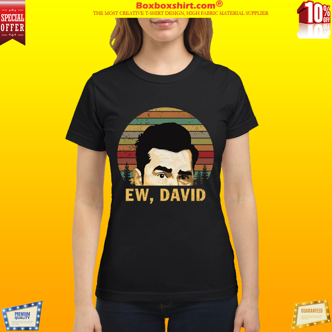 Ew David Schitts Creek shirt and mug and classic shirt