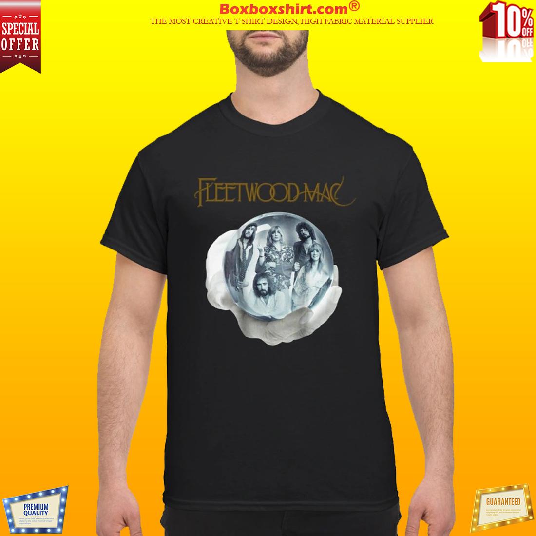 Fleetwood Mac crystal ball hand shirt