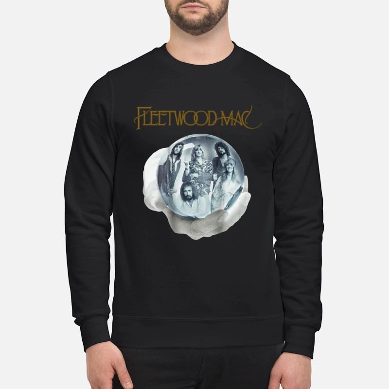 Fleetwood Mac crystal ball hand shirt