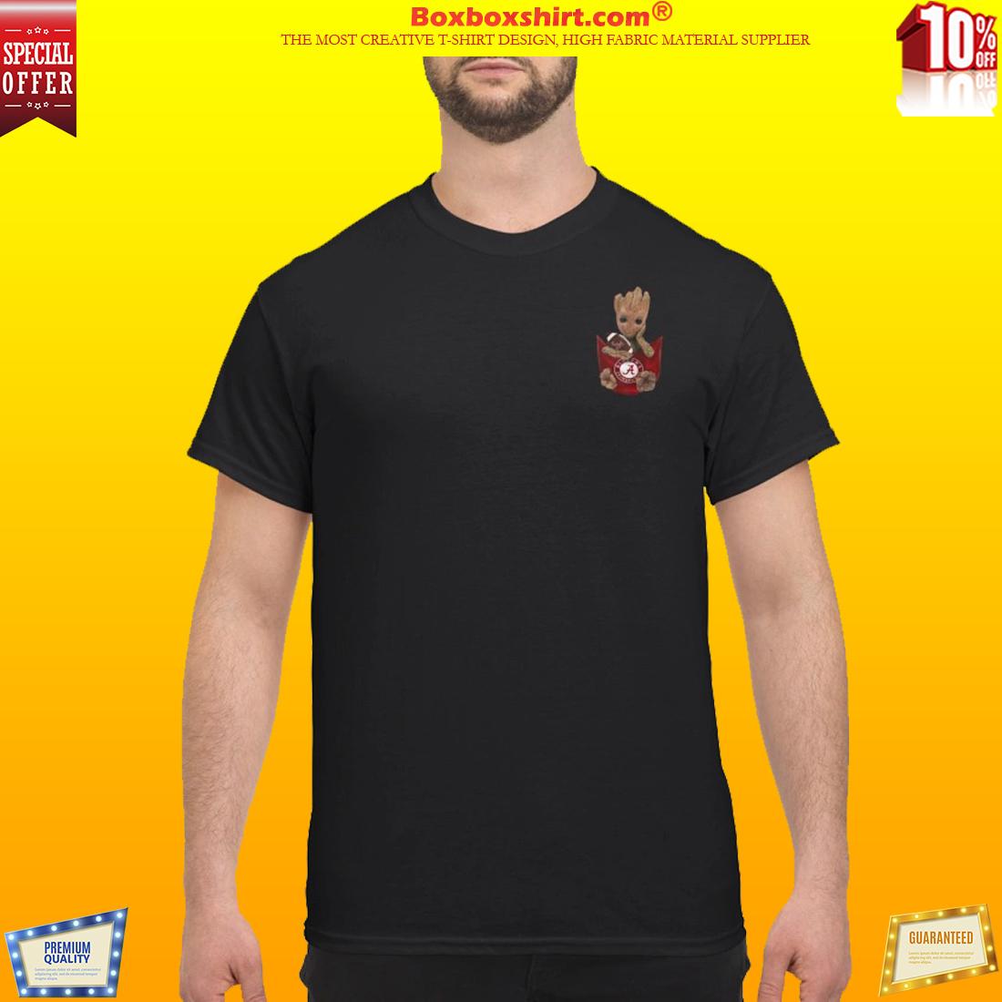 2853b3abee Groot pocket Alabama shirt