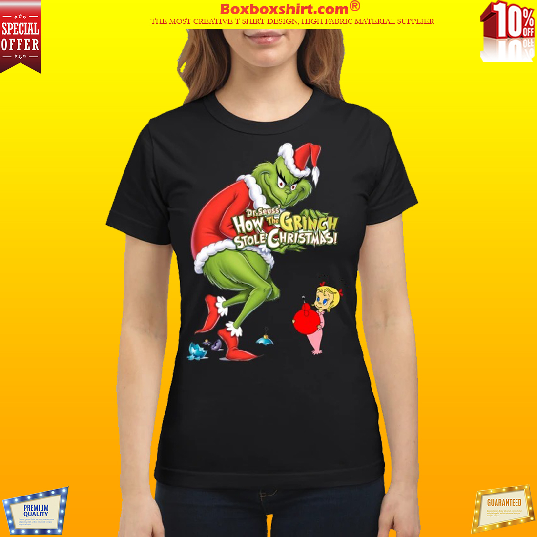 How the Grinch stole the Christmas cindy lou shirt