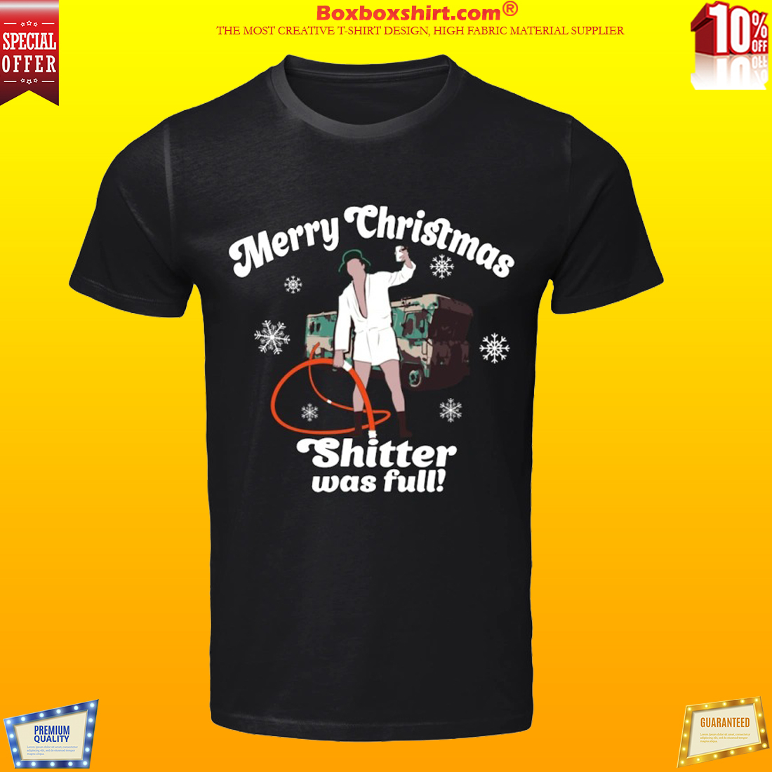 Merry Christmas shitter was full shirt and sweatshirt
