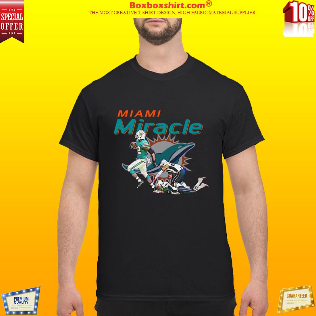 Miami dolphin miracle shirt