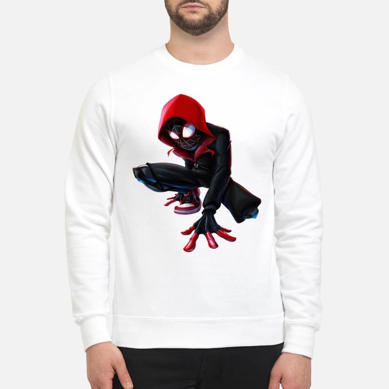 Miles morales spider man Nike Air Jordan sweatshirt