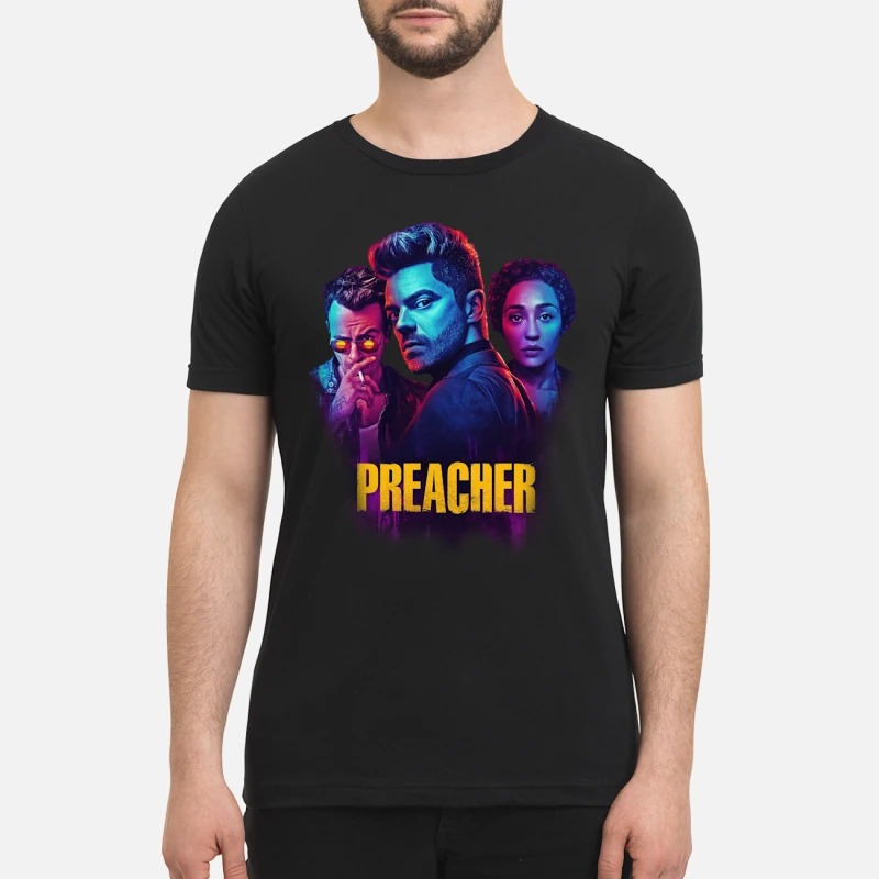 Preacher jesse cassidy tulip shirt and sweatshirt