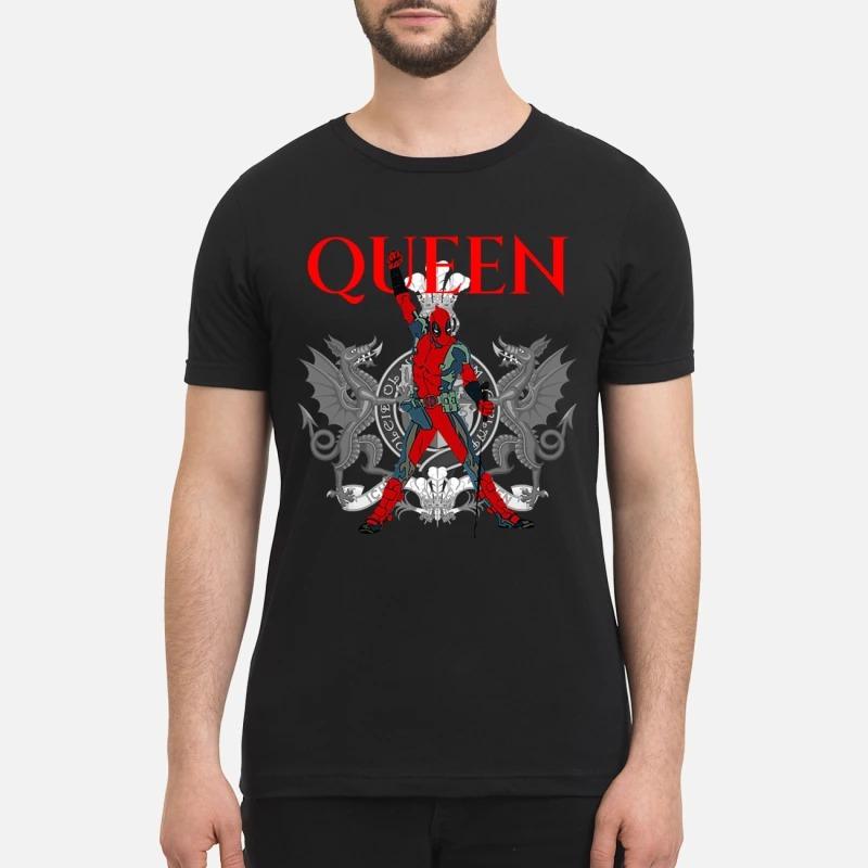 Queen Freddie Mercury deadpool shirt