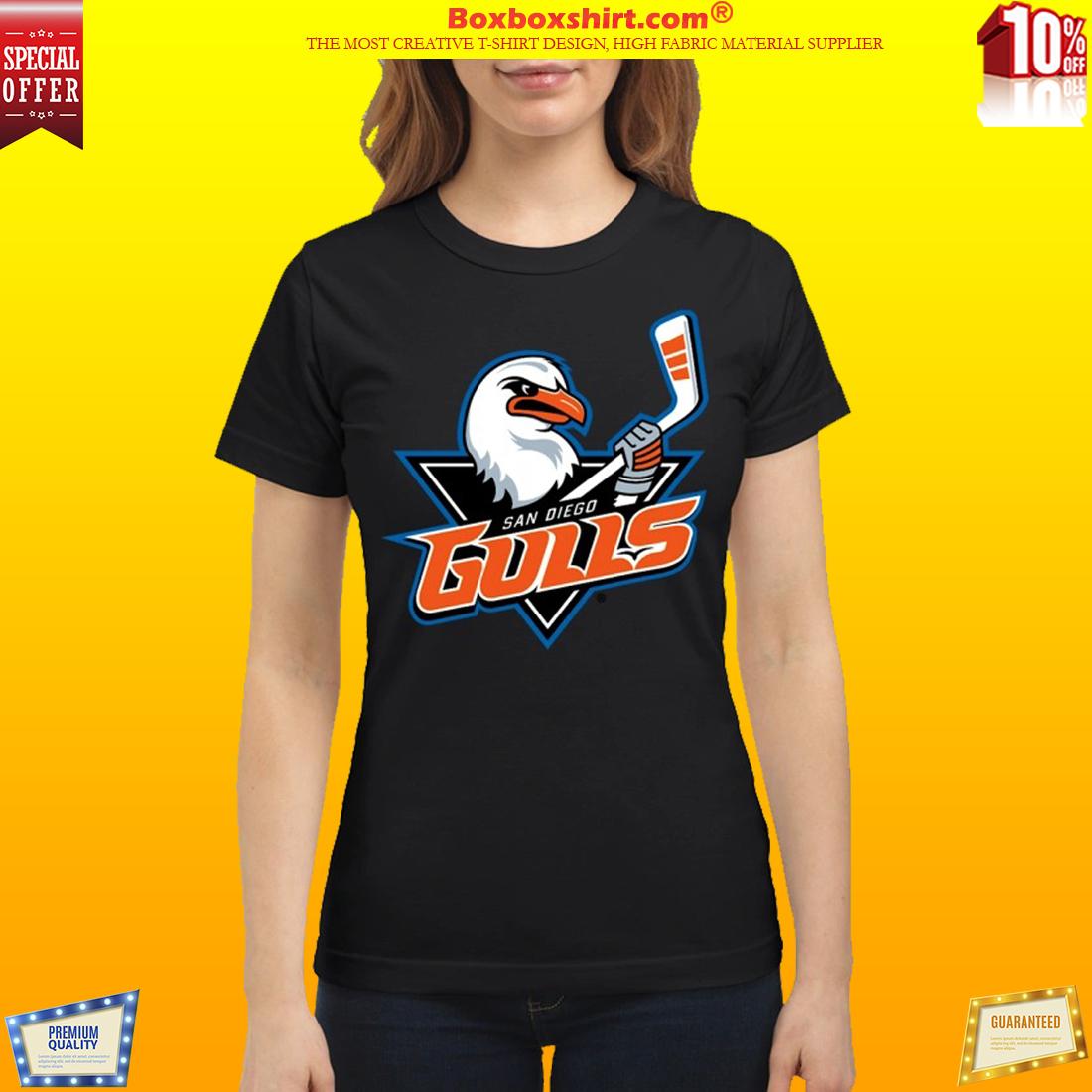 San Diego Gulls Hockey team logo classic shirt