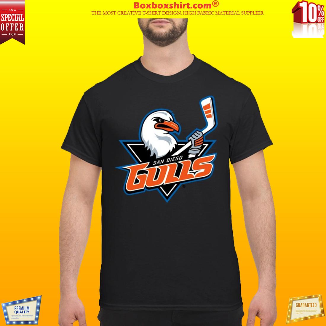 San Diego Gulls Hockey team logo shirt