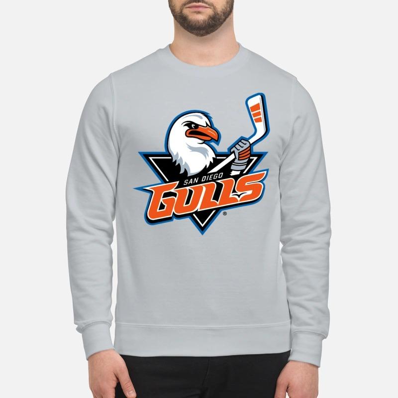 San Diego Gulls Hockey team logo sweatshirt