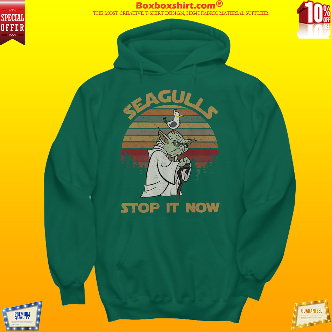 Seagulls stop it now shirt and hoodies