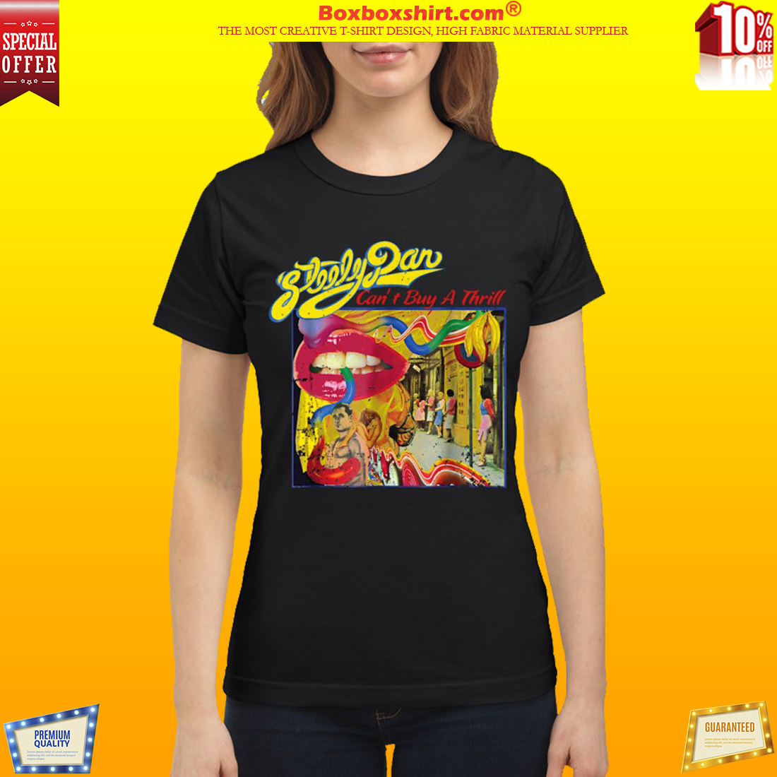 Steely Dan I can't buy a thrill classic shirt
