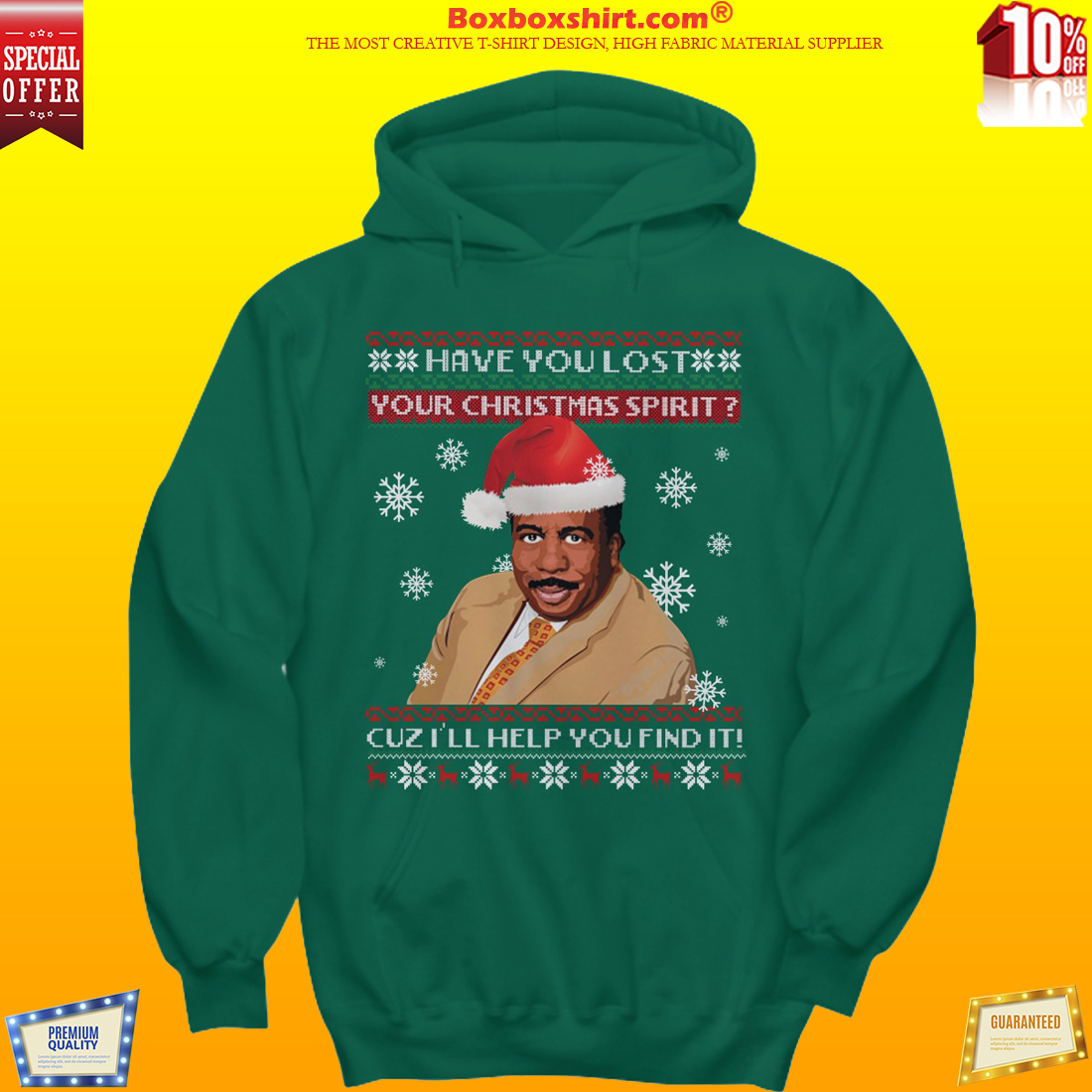 Steve Harvey Have you lost your Christmas spirit cuzz i will help you find it sweater shirt