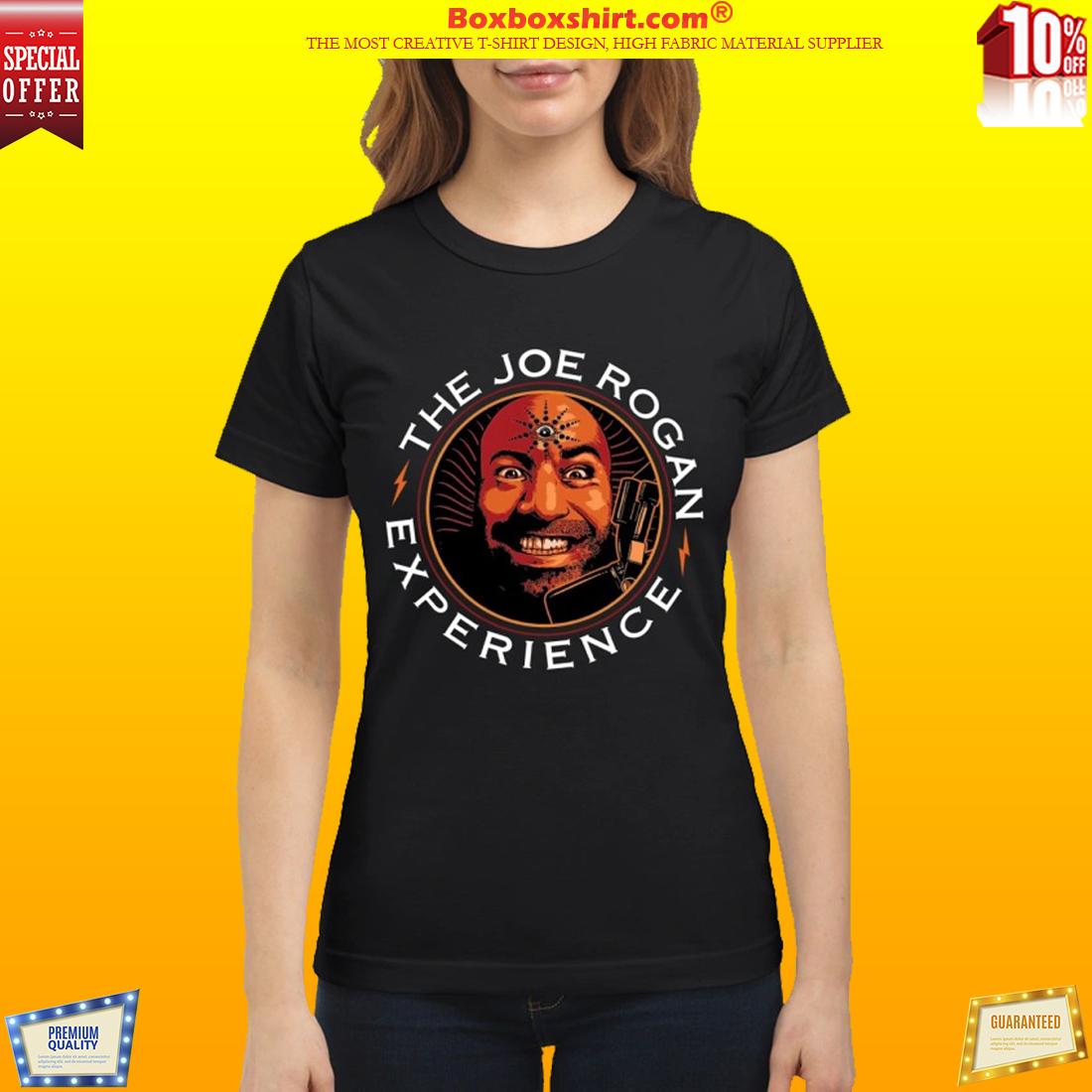 The Joe Rogan face experience classic shirt