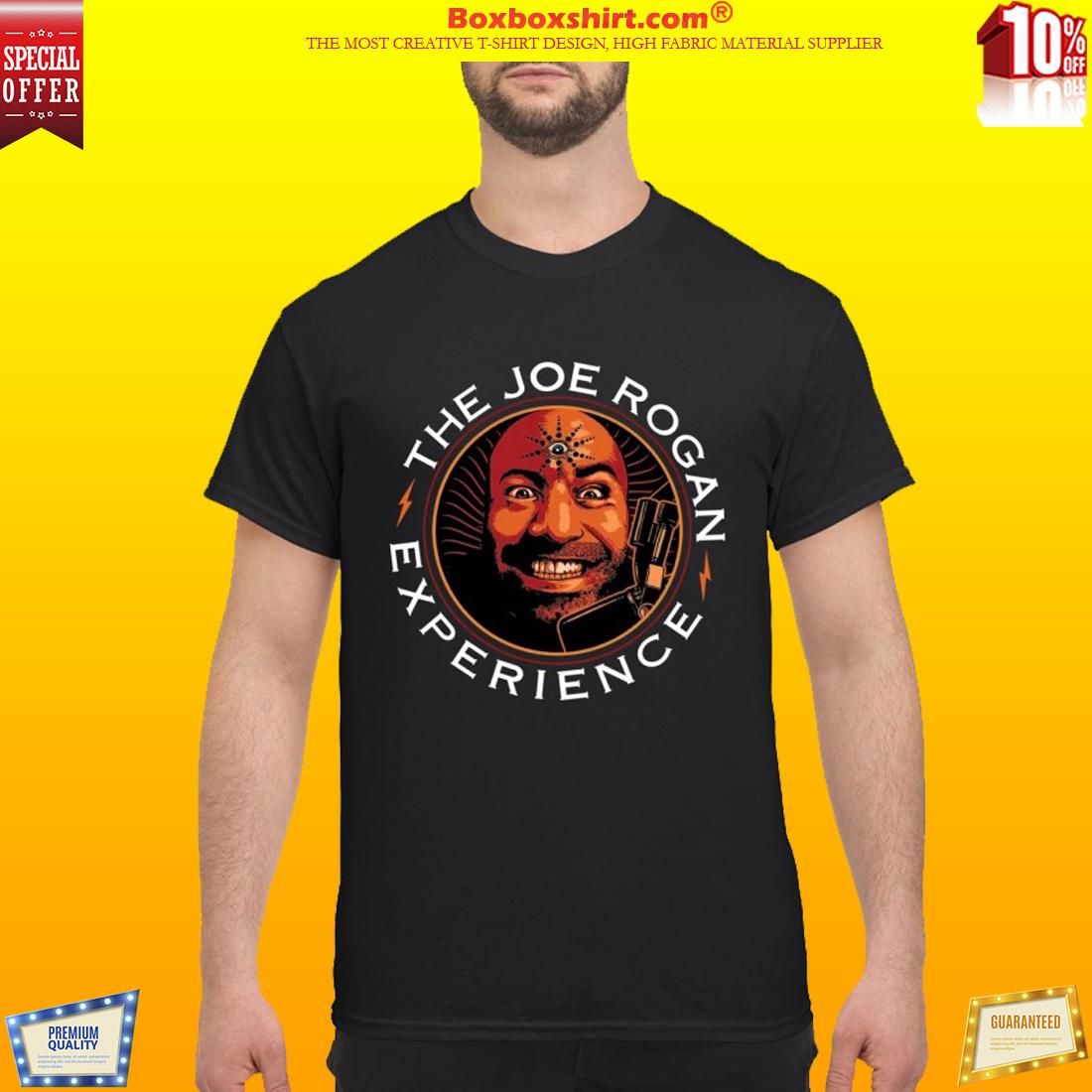 The Joe Rogan face experience shirt