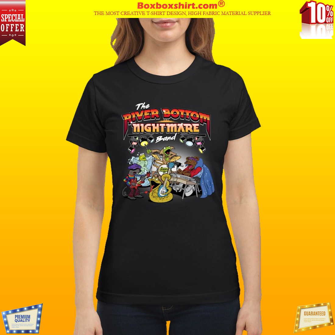 The riverbottom nightmare band shirt