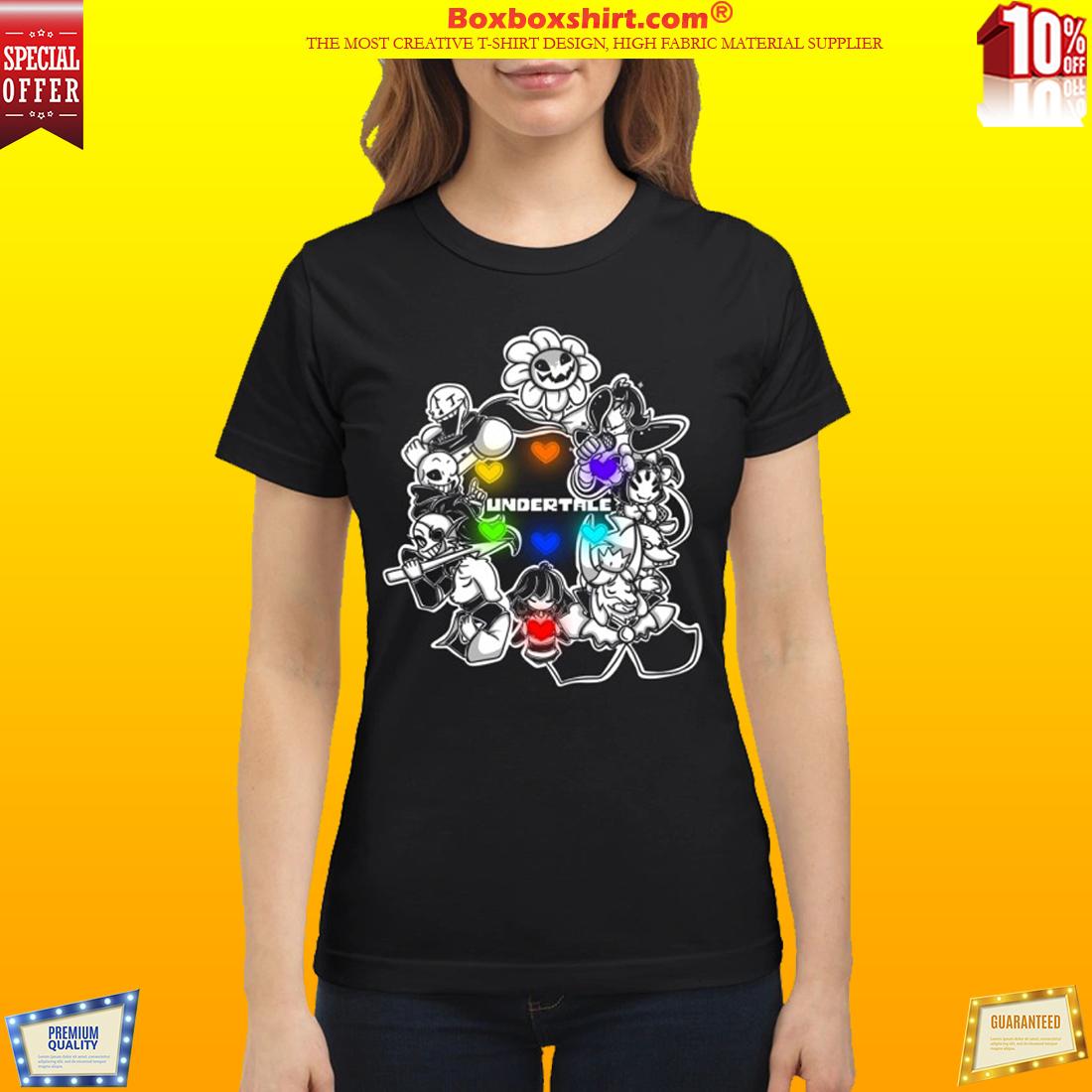 Undertale characters classic shirt