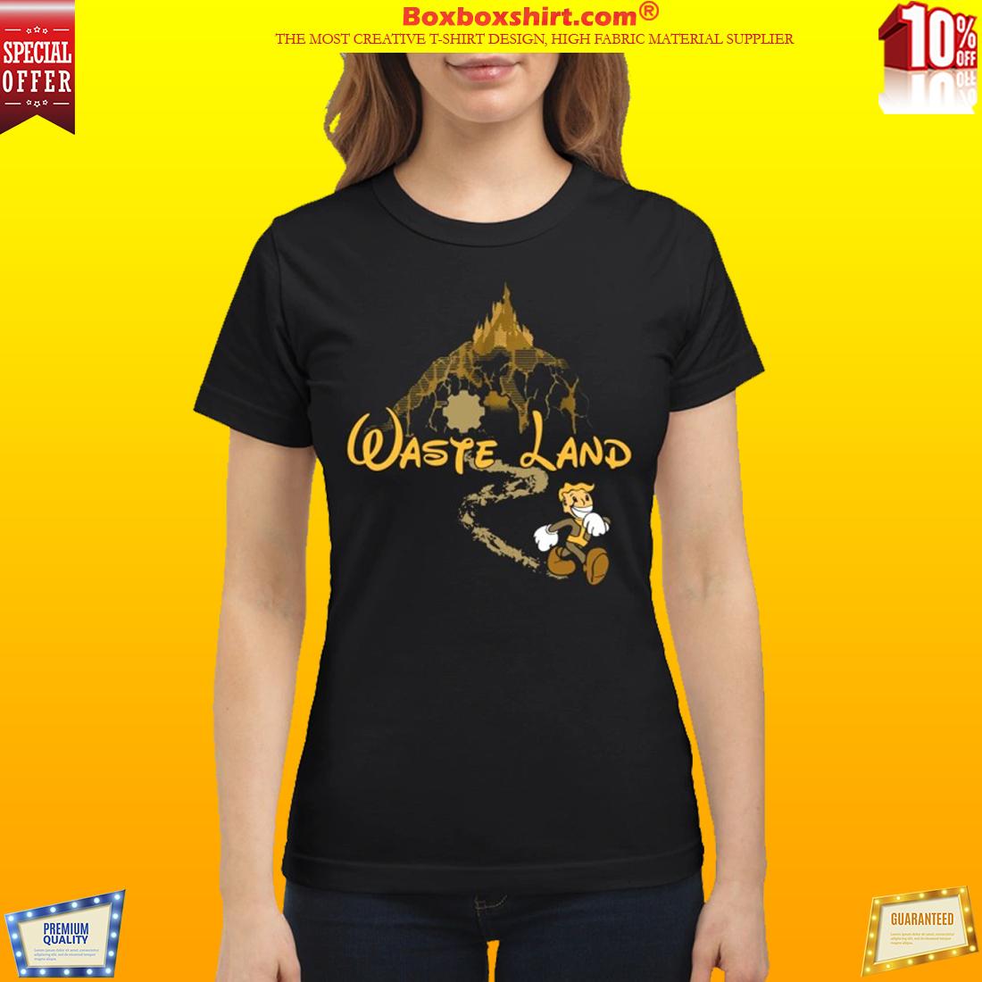 West Virginia wasteland disney classic shirt